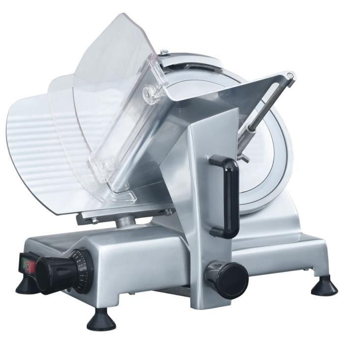 Trancheur à viande électrique professionnel 220 mm