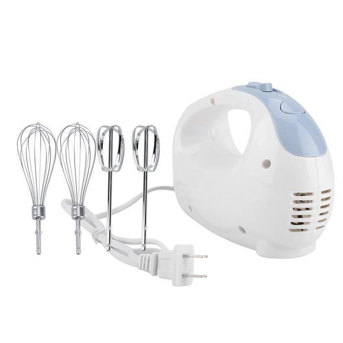 Batteur à oeufs mélangeur de crème cuisson gâteau outil manuel électrique fouet 5 vitesses 100W 220V-CHE