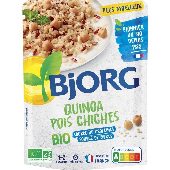 BJORG Quinoa Pois Chiches Doypack Bio 250g