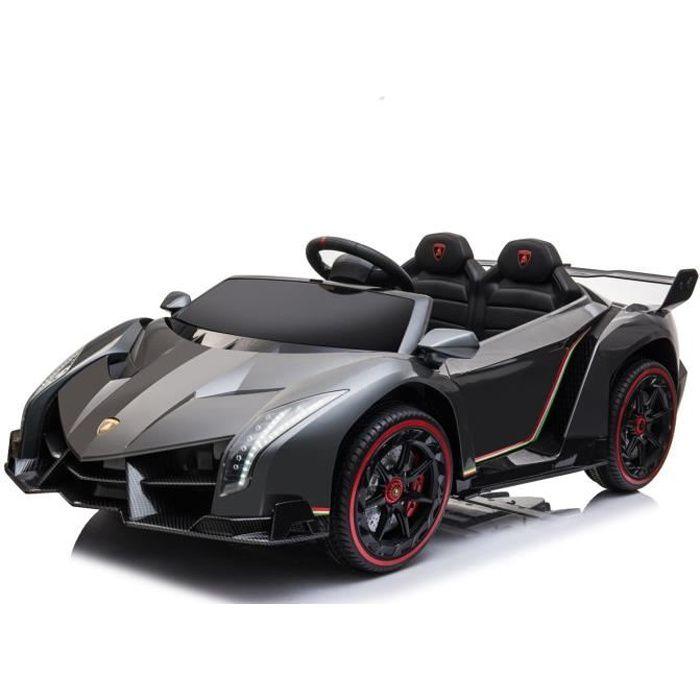 Lamborghini Veneno 2 places -voiture enfant électrique 12V avec télécommande