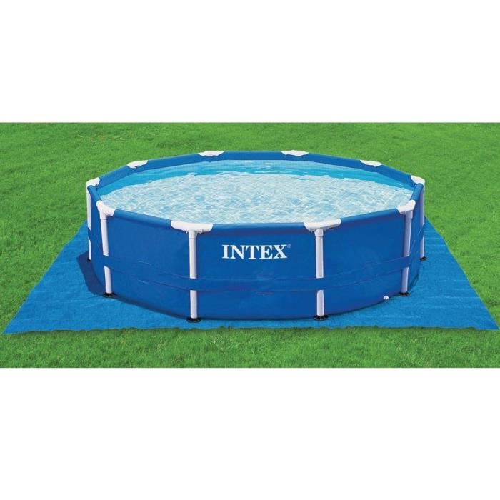 INTEX Tapis de sol carré 472 x 472 cm