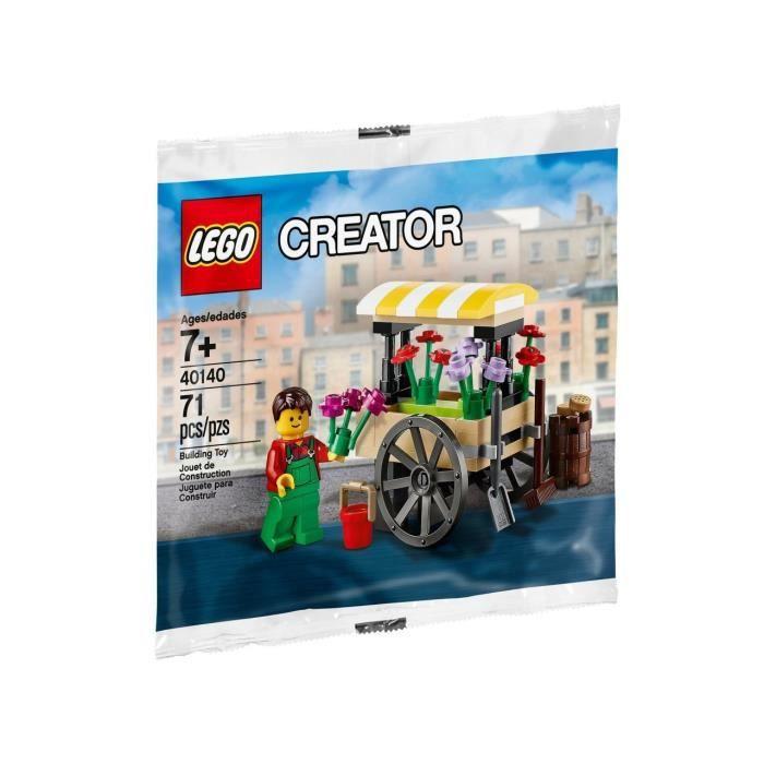 LEGO Creator - Le Wagon A Fleurs - 40140