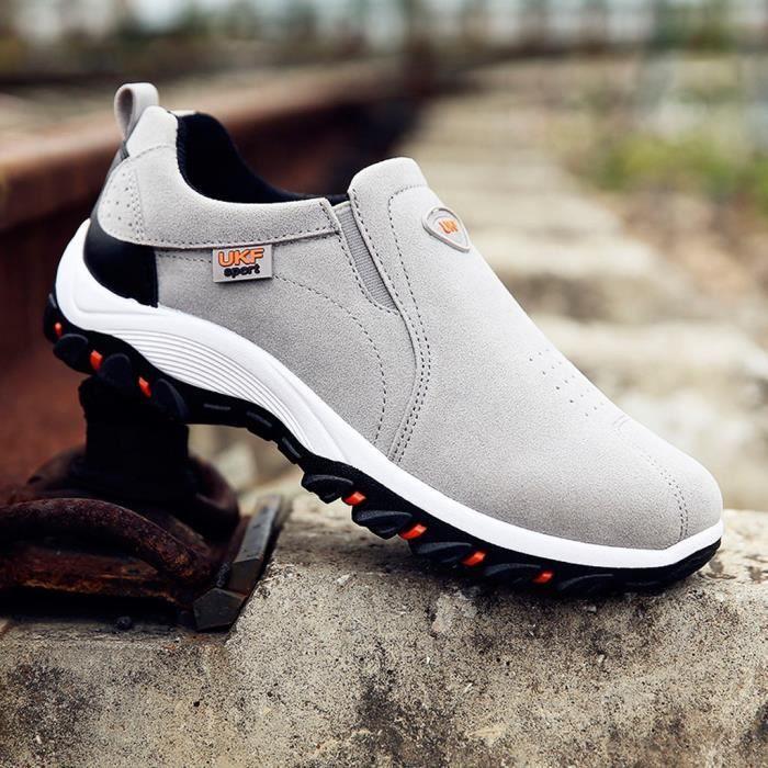Les nouveaux hommes Sports de plein air Casual Chaussures de randonnée Chaussures Sneakers Chaussures solides