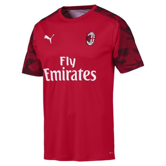 MAILLOT NEWS TRAINING TOP AC MILAN ROUGE 2019/20 ac milan