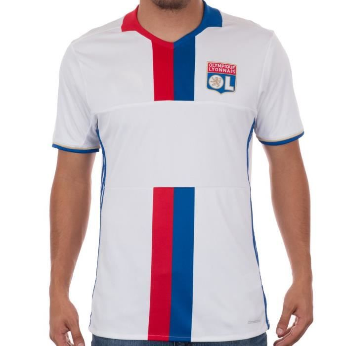 Adidas Maillot Football Olympique Lyonnais OL Lyon domicile 2016/2017 Adulte