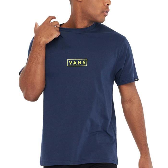 Vans Easy Box Homme T-shirt manches courtes décontracté col rond - -