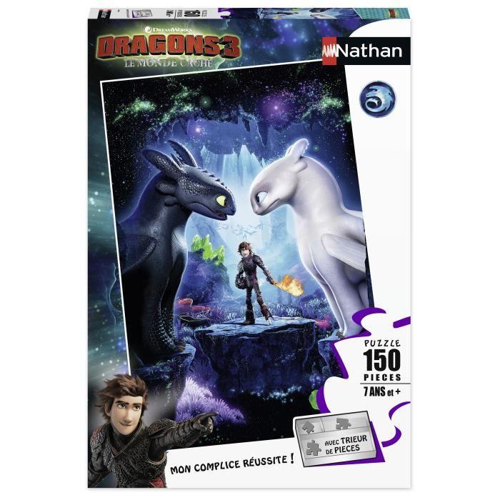 Puzzle 150 p - Les héros réunis / Dragons 3