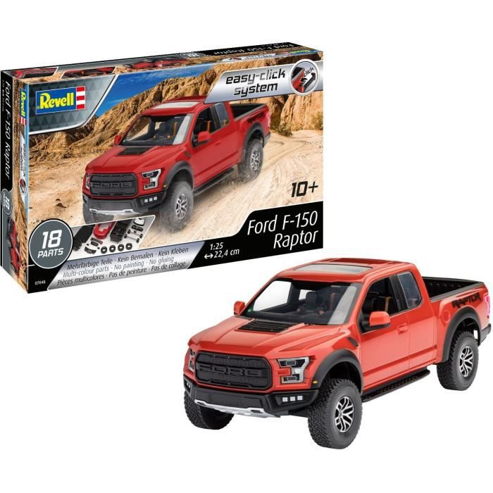 REVELL Easy-Click 2017 Ford F-150 Raptor 07048 Maquette plastique