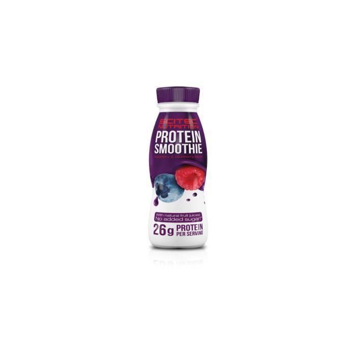 Protein Smoothie 330mL Scitec Nutrition Framboise Et Myrtilles