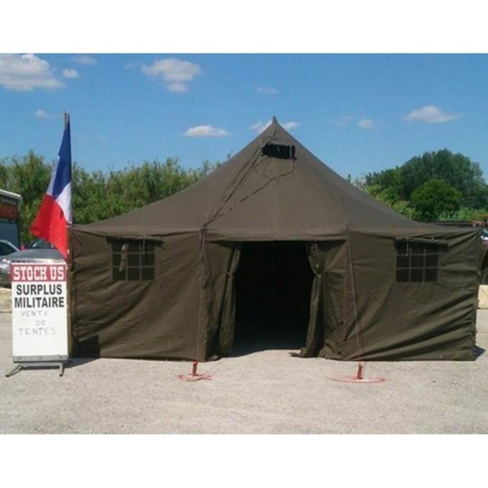 Tente militaire 6m x 5 m neuve surplus militaire Unique