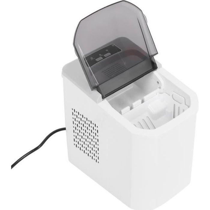 KAI Machine à glaçons portable Machine à glaçons électrique portative automatique 1.2L 40 à 50 pièces de glace-H