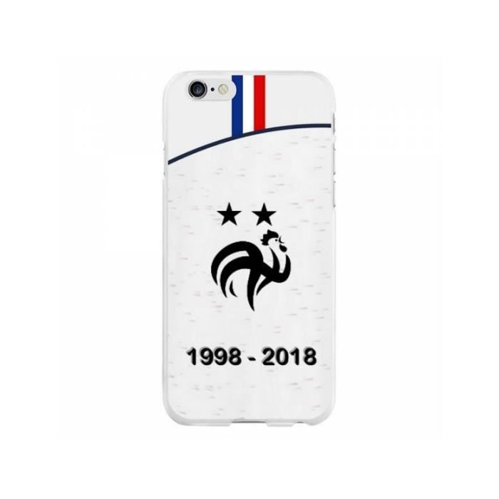 coque rigide iphone 6 6s football champion du mo