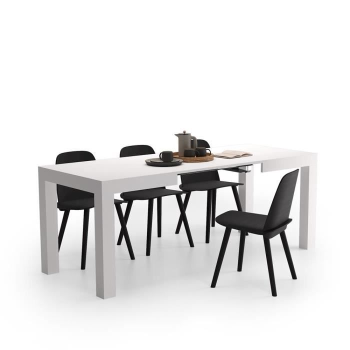 Table Extensible Cuisine First Frene Blanc Achat Vente Table