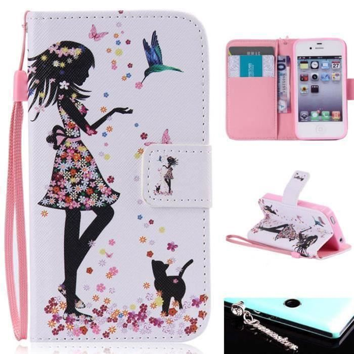 iphone 4 coque fille