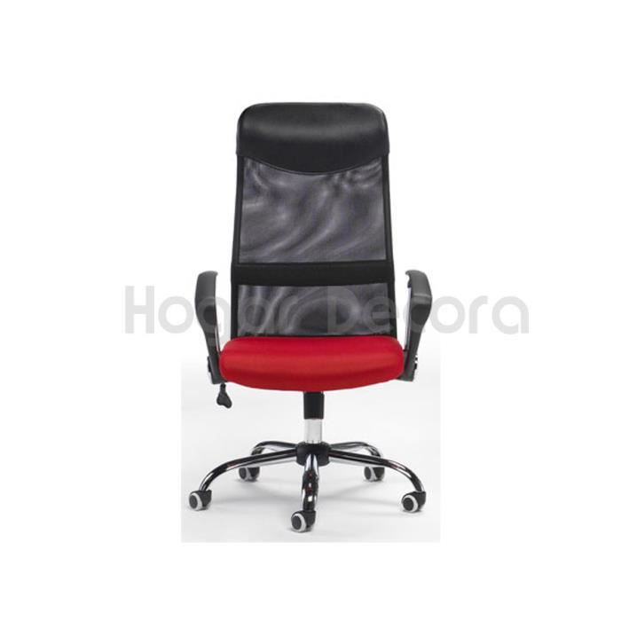 fauteuil de bureau m2 rouge avec tissu 3d achat vente. Black Bedroom Furniture Sets. Home Design Ideas