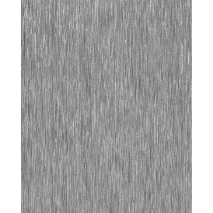 papier peint lessivable lignes fines ton sur ton edem 1020 10 aspect m tallic gris argent. Black Bedroom Furniture Sets. Home Design Ideas