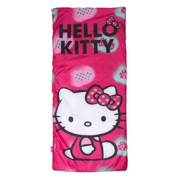 sac de couchage hello kitty prix pas cher cdiscount. Black Bedroom Furniture Sets. Home Design Ideas