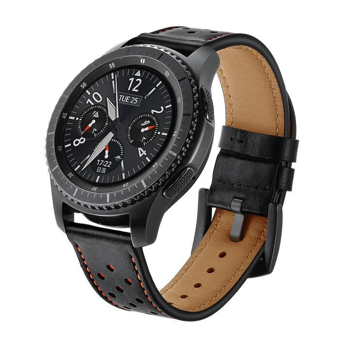 bracelet cuir samsung watch