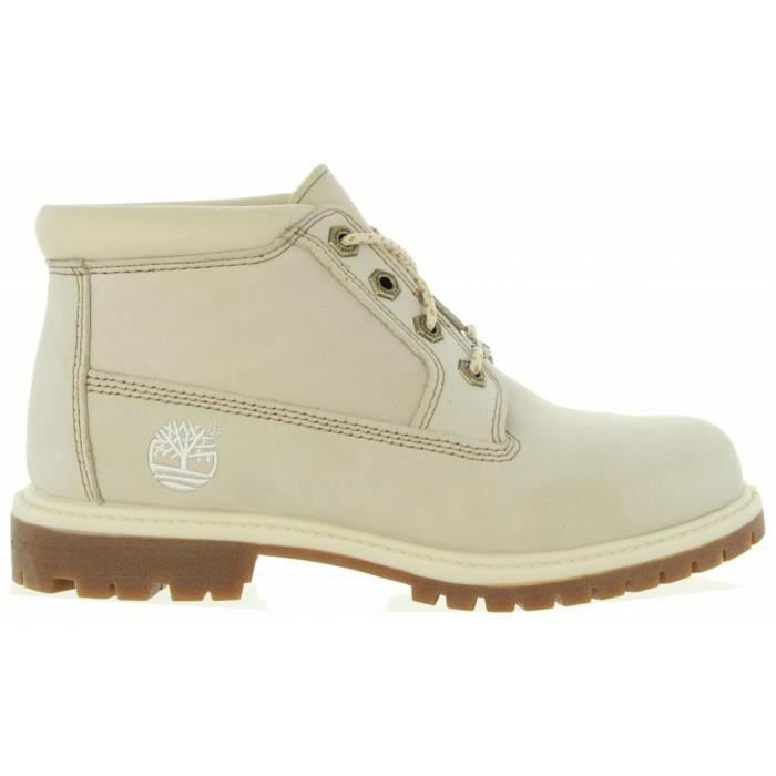Bottines pour Femme TIMBERLAND 23671 NELLIE OFF WHITE vafFz