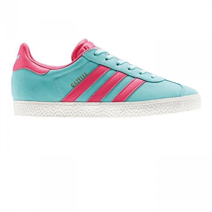 adidas gazelle rose et bleu