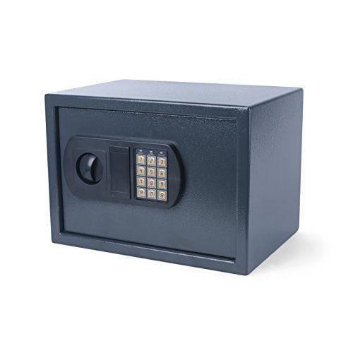 Coffre-Fort num/érique 16L en Acier Massif de s/écurit/é pour la Maison ou Le Bureau cm Noir 35 x 25 x 25