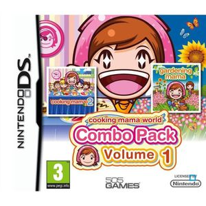 JEU DS - DSI PACK COOKING MAMA VOLUME 1 / Jeu console DS
