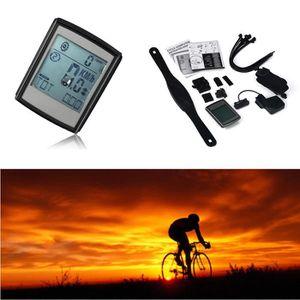 COMPTEUR POUR CYCLE Chronomètre sans fil numérique étanche vélo Compte