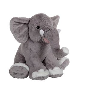 PELUCHE GIPSY Eléphant Assis 50 cm