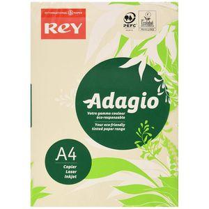 PAPIER IMPRIMANTE Rey Adagio Ramette de 250 feuilles papier couleur