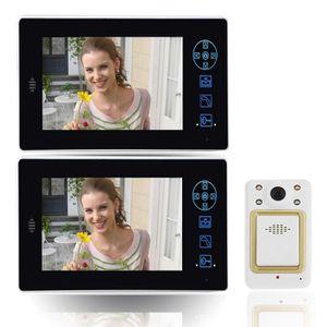 SONNETTE - CARILLON 7 pouce Visionneuse de téléphone de porte vidéo sa