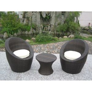 Salon de jardin 3 pieces Totem - Achat / Vente salon de ...