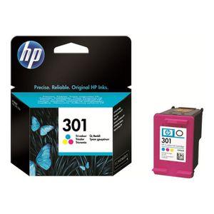 CARTOUCHE IMPRIMANTE HP 301 Tricolore à base de colorant originale cart
