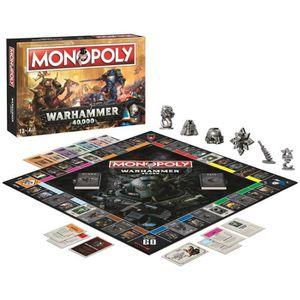 JEU SOCIÉTÉ - PLATEAU Monopoly 035484 Warhammer, Multicolore - version a