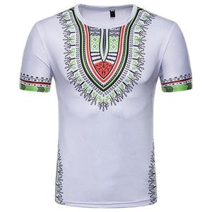 T-SHIRT T-Shirt Homme Africain, 3D Tee Shirts Manches Cour