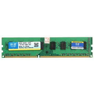 MÉMOIRE RAM NEUFU XIEDE 4 Go Barette Mémoire RAM DDR3 PC3-1280