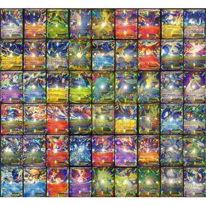 CARTE A COLLECTIONNER Ywei 100PCS Pokémon Jeu De Cartes Pokemon Cartes y