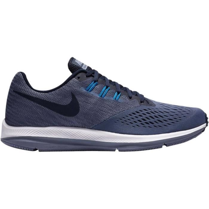 premium selection 91e33 49f1b canada destockage chaussures nikenike zoom winflo 2 gris et orange 555ee  226ad  low cost nike chaussures de running air zoom winflo homme bleu fac5b  93234
