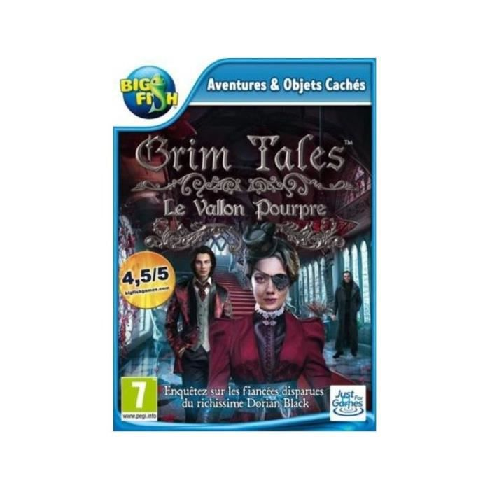 Grim Tales (11) Crimson Hollow Jeu PC