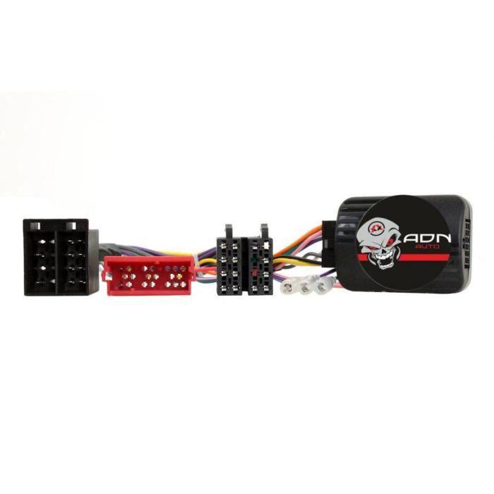 Interface Commande au volant NS5 compatible Nissan 11-14 Mini-ISO Centrale seule