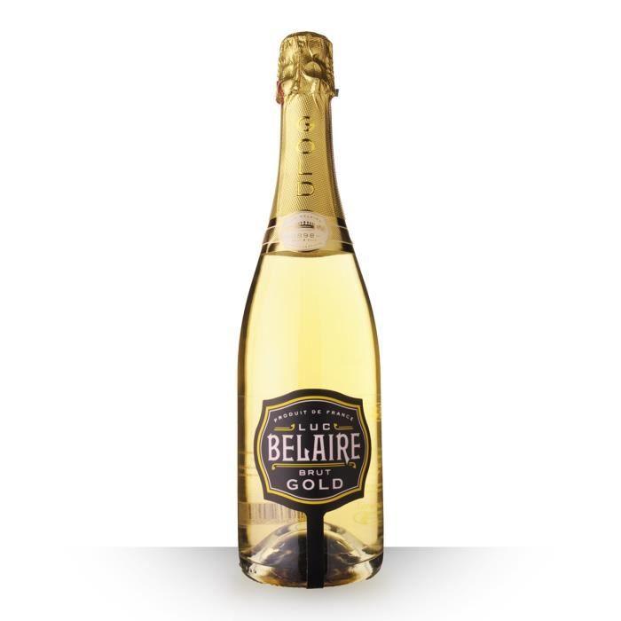 Luc Belaire Fantôme Brut Gold - 75cl - Vin Rosé