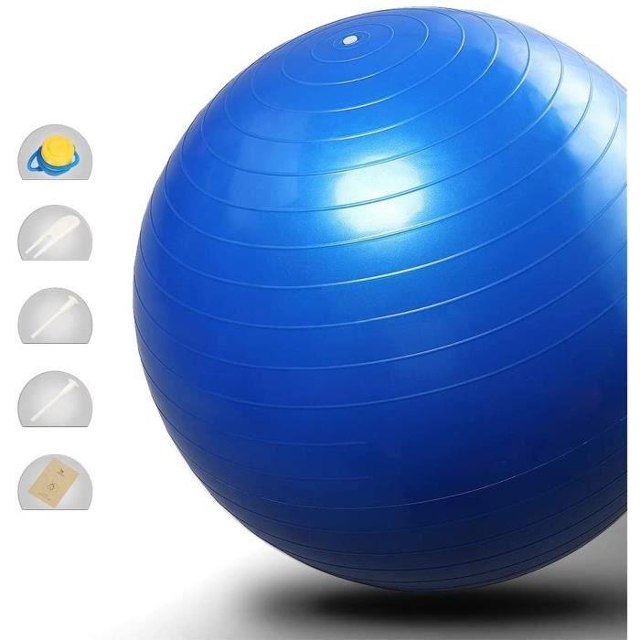 Ballon Fitness Balles d'exercices Ballon suisse Boule de yoga Ballon d'exercice 65cm Anti Burst Anti Slip Grand ballon suisse f50