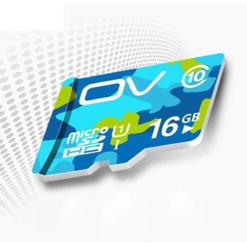 Carte Mémoire Flash Class10 64Go 32Go 16Go Carte Micro Sd en Mp4 16 Gb