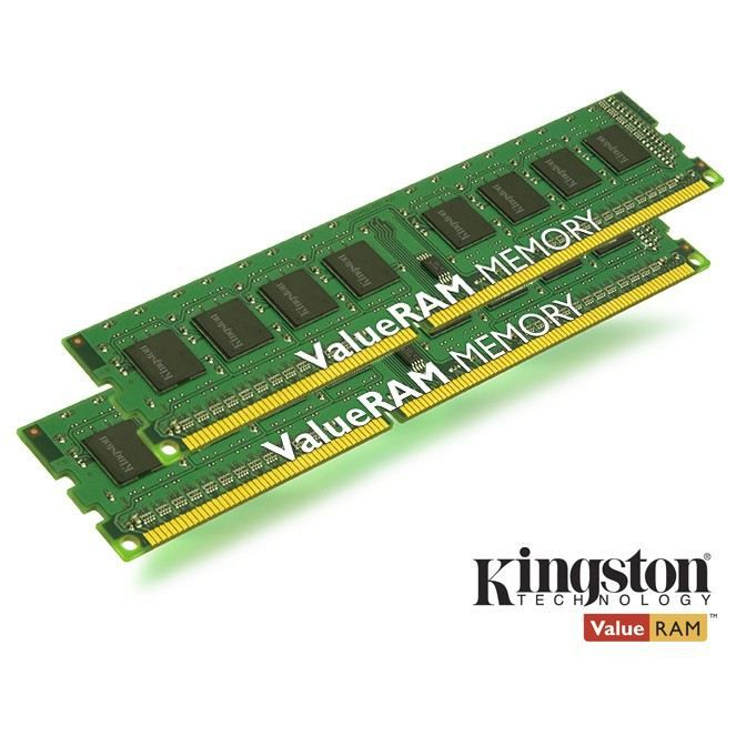 KINGSTON Module de mémoire 16Go 1600MHz DDR3 Non-ECC CL11 DIMM (Kit of 2)