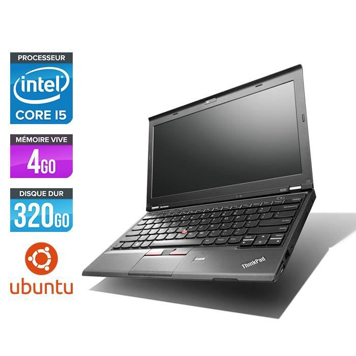 Pc portable Lenovo X230 i5 4 Go 320 Go 12.5'' Linux