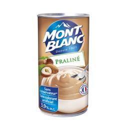 Crème dessert praliné 570 g MONT BLANC