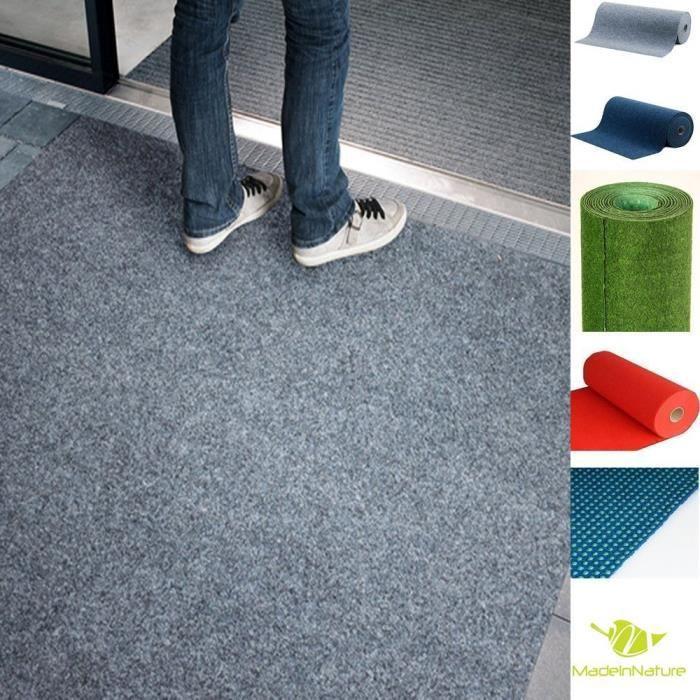 Moquette d'extérieur ou d'intérieur - dimensions et couleurs au choix - tapis type gazon artificiel - revêtement de sol outdoor