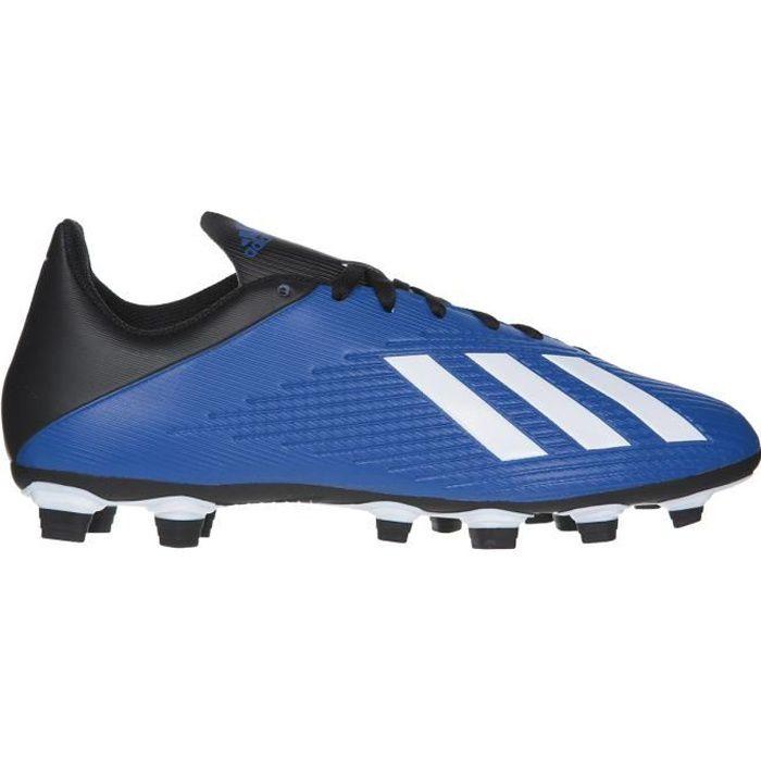 ADIDAS Chaussures de football X 19.4 FXG - terrains secs - Adulte - Bleu