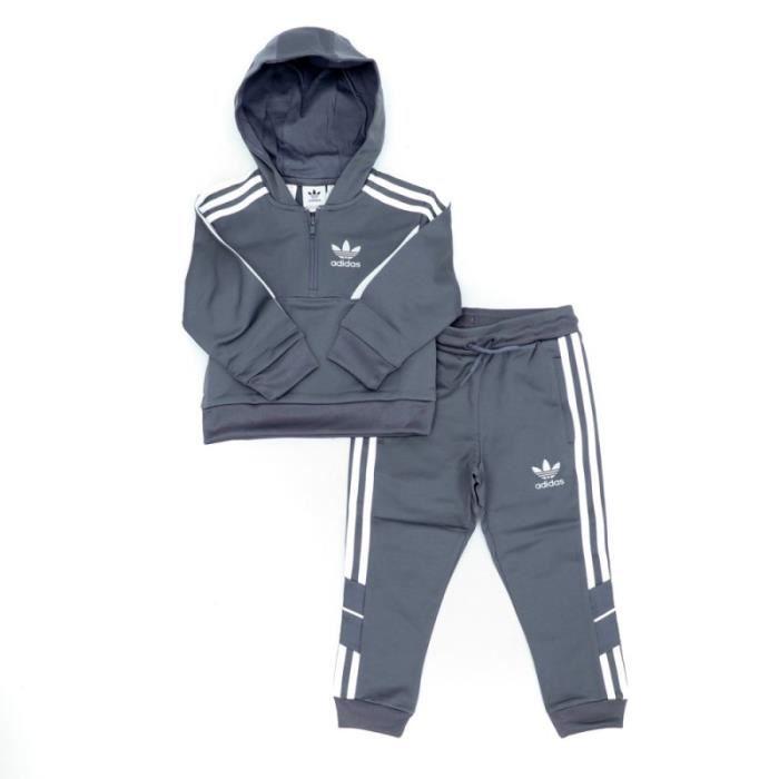 Survêtement gris garçon Adidas Euro