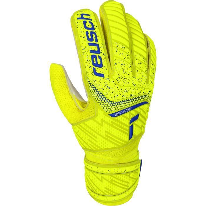 Gants Reusch Attrakt Solid - jaune/bleu/blanc - 9