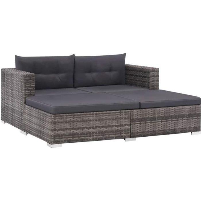 Ensemble de canapé de jardin Ensembles de meubles d'extérieur70 x 70 x 54 cm Jeu de meuble de jardin comtemporain comfortable 8 pcs
